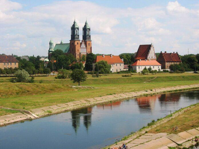 wał Ostrów Tumski w Poznan
