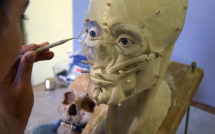 Zrekonstruowano twarz mieszkańca Dzwonowa sprzed 500 lat
