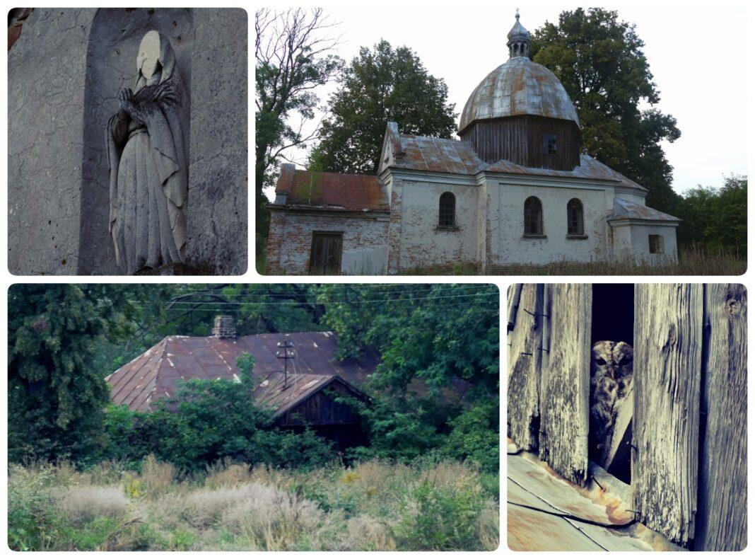 wyżłów opuszczona wieś i cerkiew