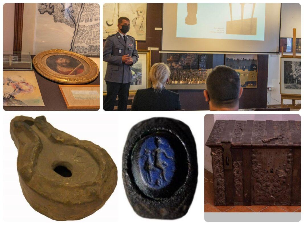 odzyskane straty wojenne z Bydgoskiego muzeum okręgowego