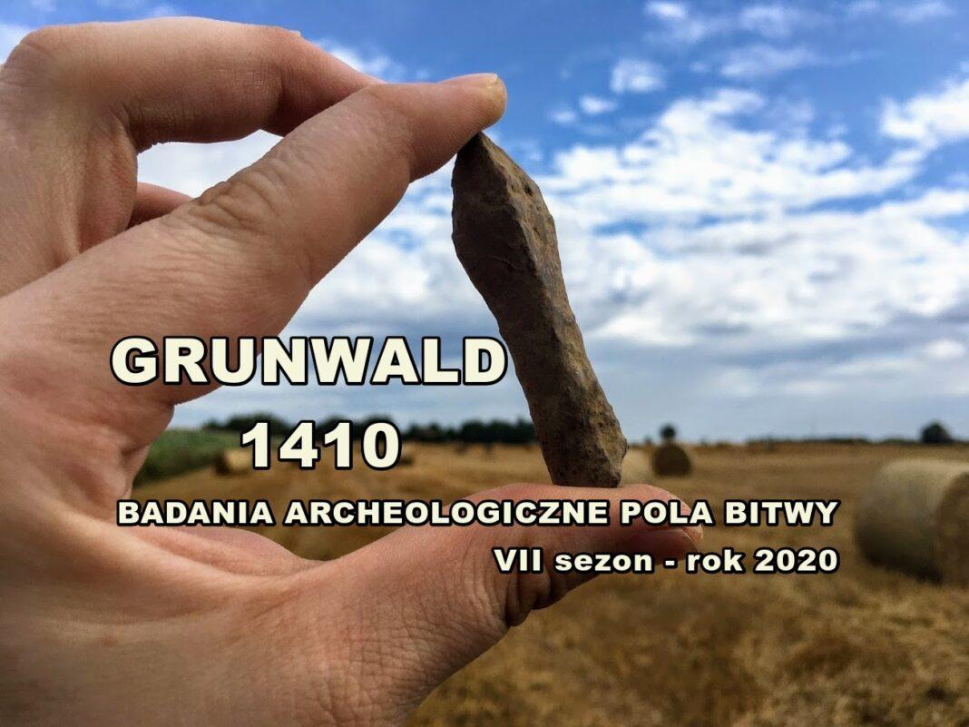 badanie pola Bitwy pod Grunwaldem