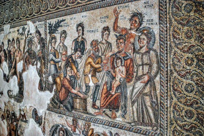 mozaika Nea Pafos Cypr