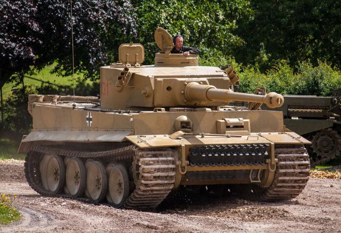 czołg Tygrys 131 tank Tiger I