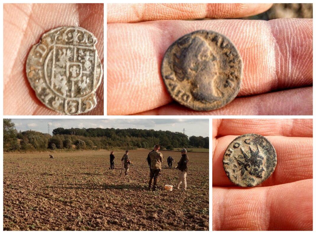 rzymskie monety znalezione pod Legnica