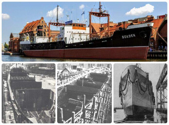statek SS Sołdek Gdańsk ship