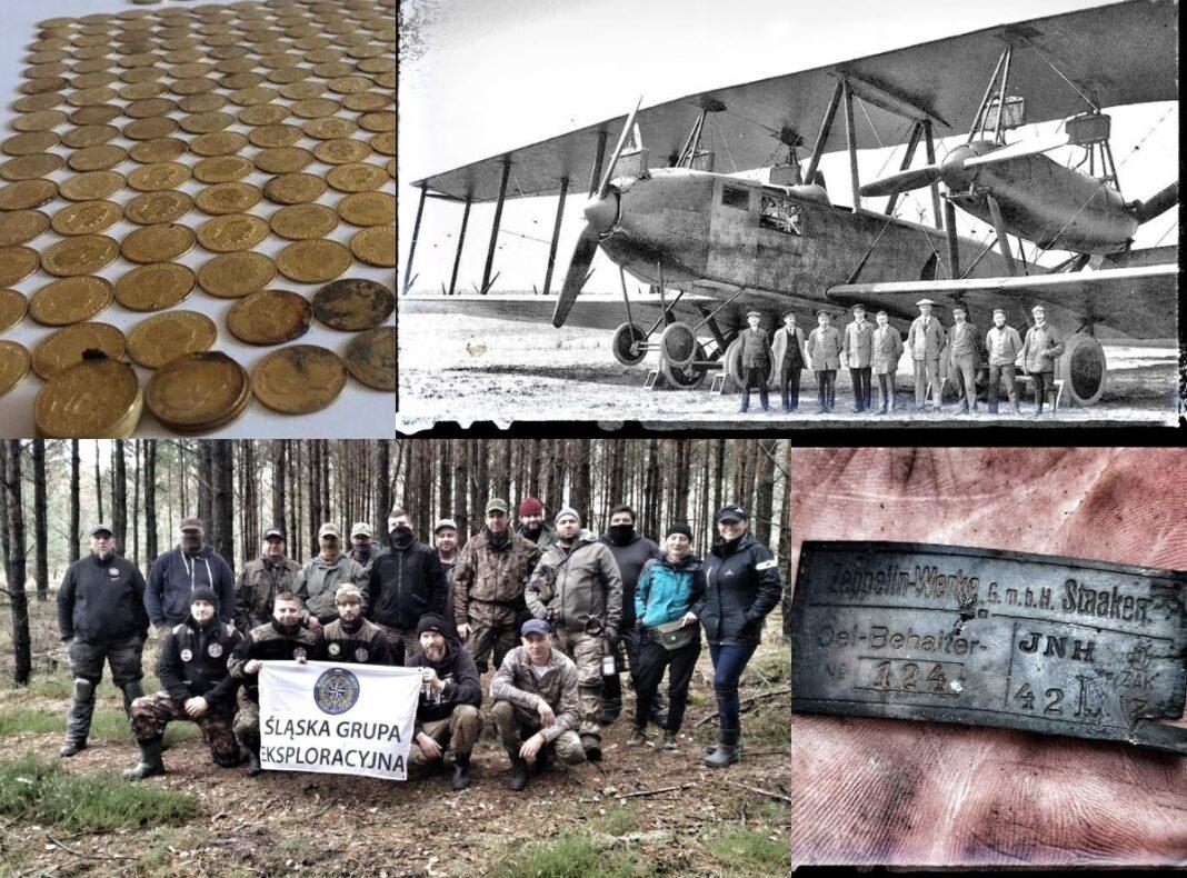 Poszukiwacze odkryli miejsce katastrofy samolotu Zeppelin-Staaken