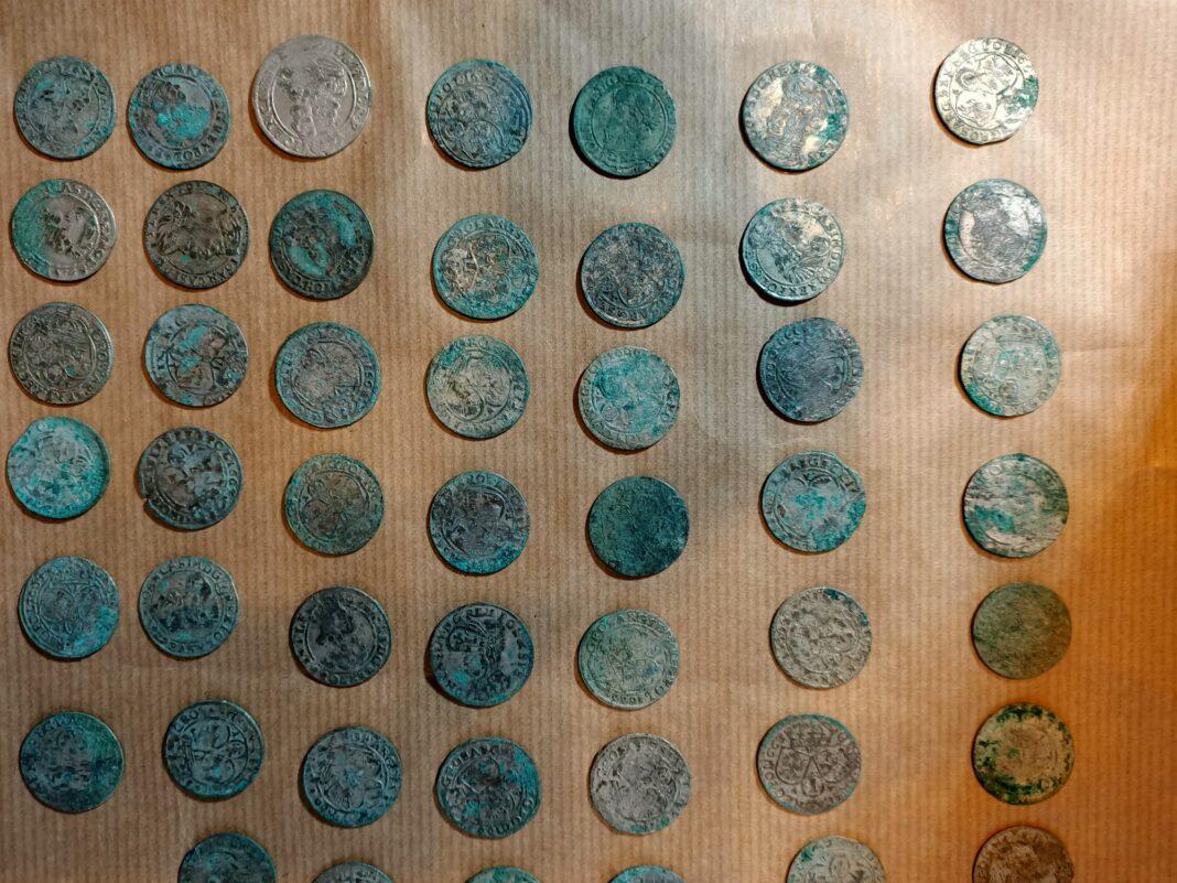 Skarb srebrnych monet kujawsko-pomorskie