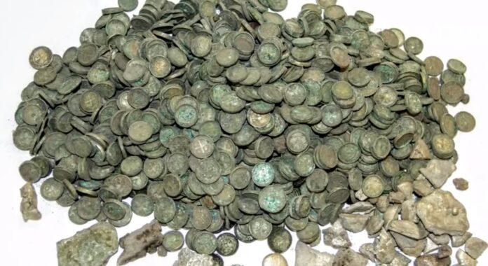 skarb odkryty pod Kaliszem