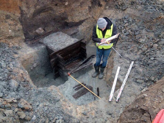 Wczesnośredniowieczna studnia odkryta w Przemyślu