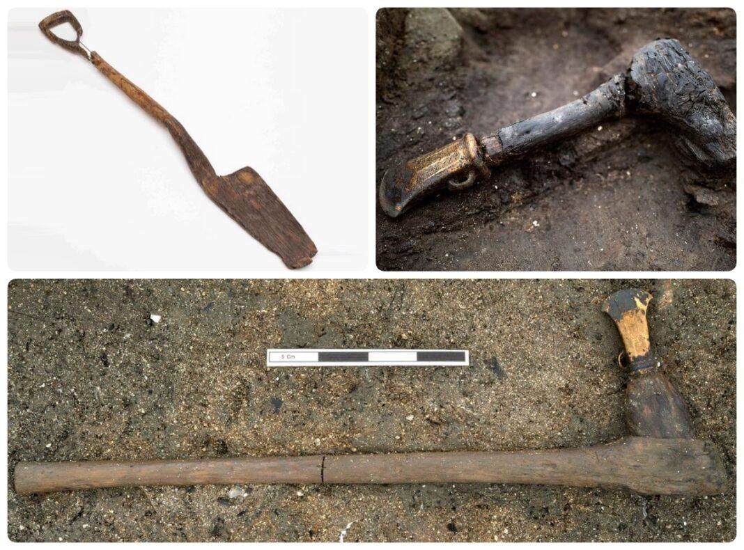 drewniane artefakty