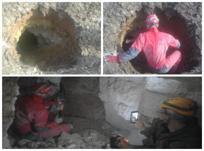 jaskinia w okolicy Kraśnika