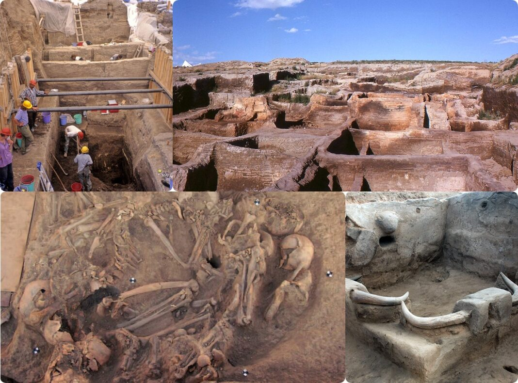 wykopaliska w neolitycznym Catalhoeyuek