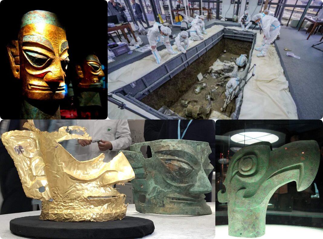 artefakty z Sanxingdui