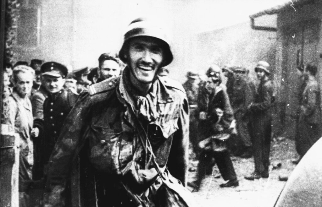 Witold Kieżun w trakcie Powstania Warszawskiego