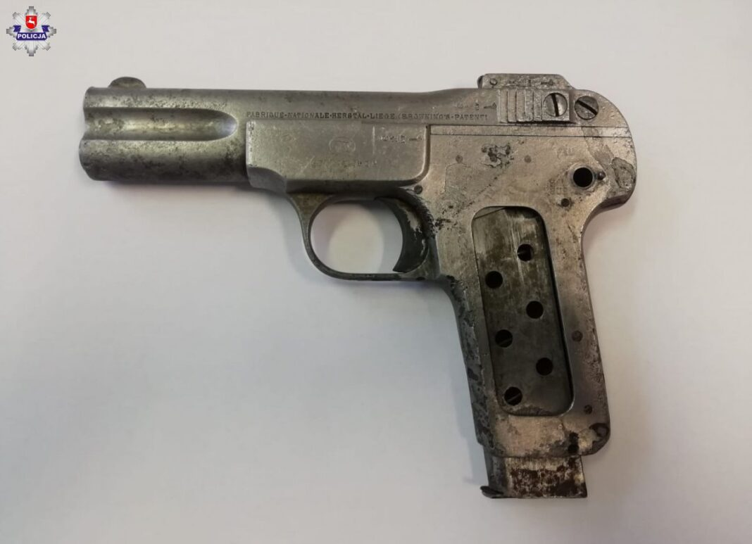 Pistolet Browning M1900