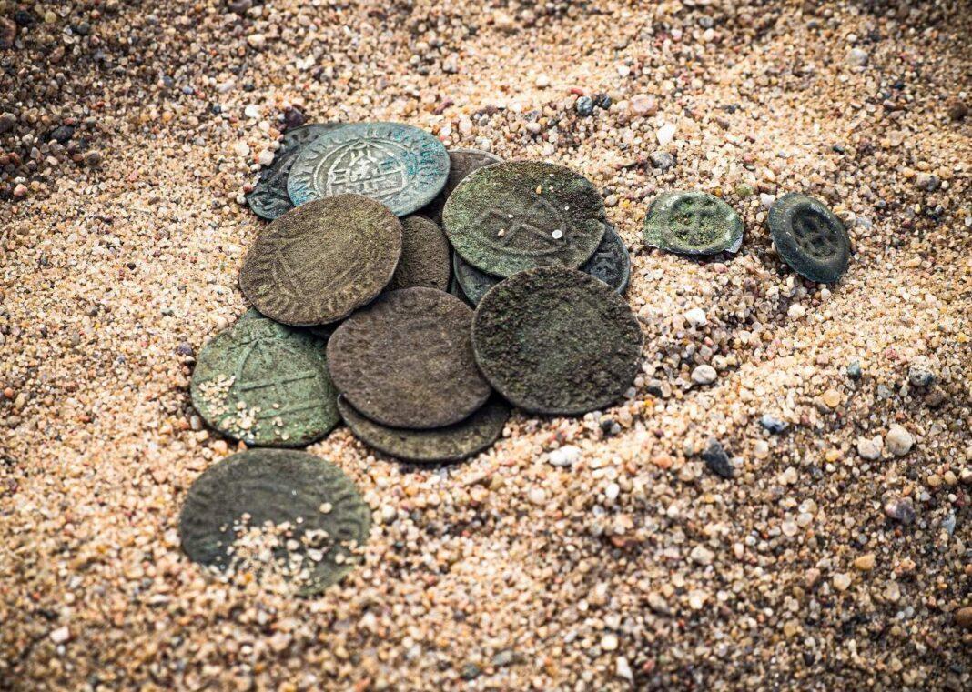 skarb monet krzyżackich