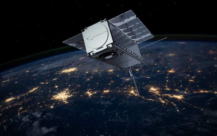 Cubesat na orbicie okołoziemskiej