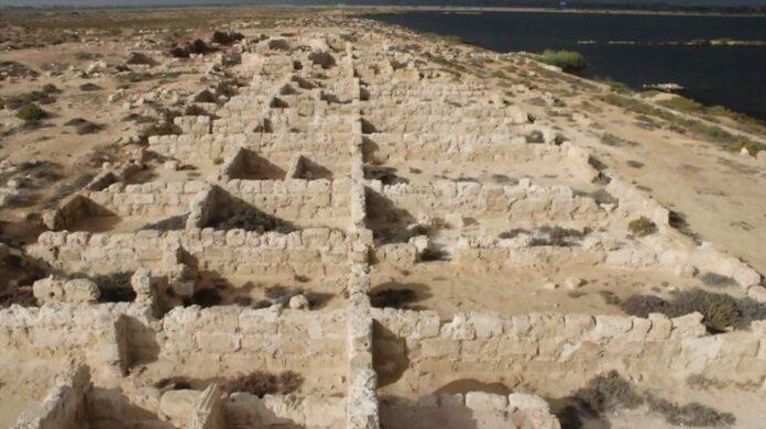 budynki odkryte w Marei