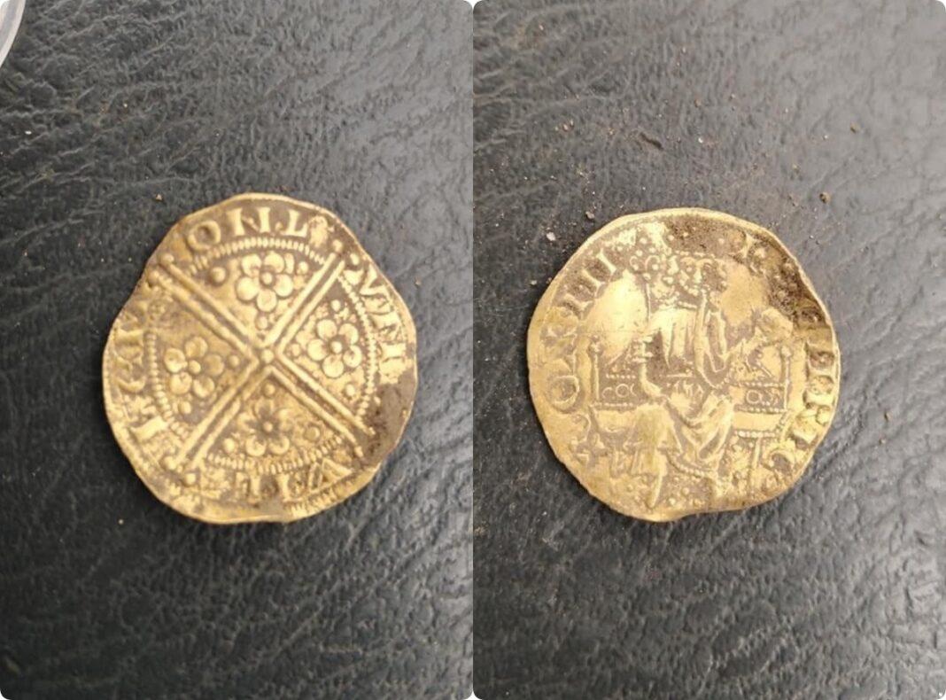 gold penny Henry III
