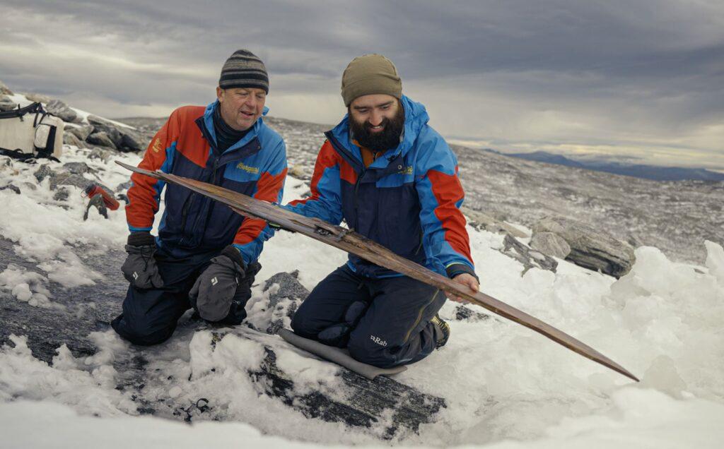 prehistoryczne narty